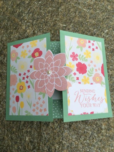 Pals Paper Crafting Card Ideas Sending Wishes Your Way Mary Fish Stampin Pretty StampinUp