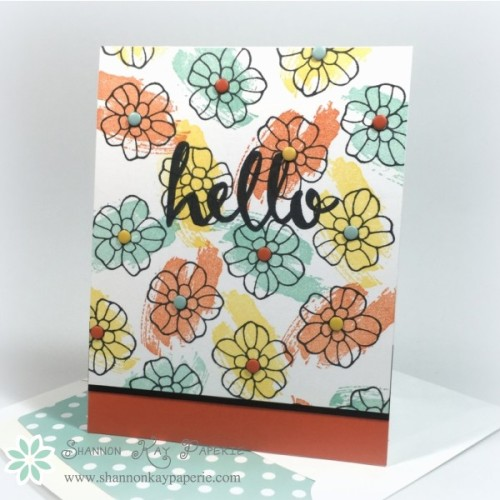 Pals Paper Crafting Card Ideas Work of Art Mary Fish Stampin Pretty StampinUp