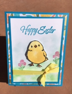 Pals Paper Crafting Card Ideas Easter Mary Fish Stampin Pretty StampinUp