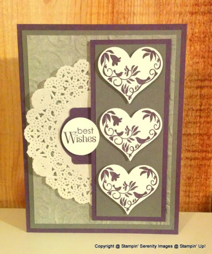 Pals Paper Crafting Card Ideas First Sight Mary Fish Stampin Pretty StampinUp