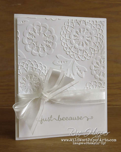 Pals Paper Crafting Card Ideas Lovely Lace Mary Fish Stampin Pretty StampinUp