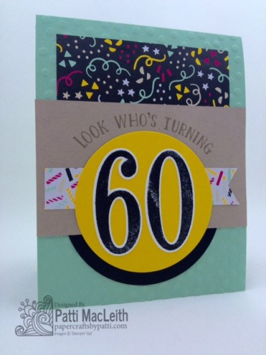 Pals Paper Crafting Card Ideas Number of Years Mary Fish Stampin Pretty StampinUp