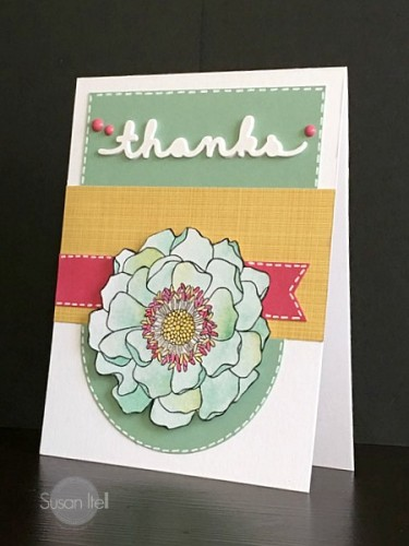 Pals Paper Crafting Card Ideas blended blooms Mary Fish Stampin Pretty StampinUp