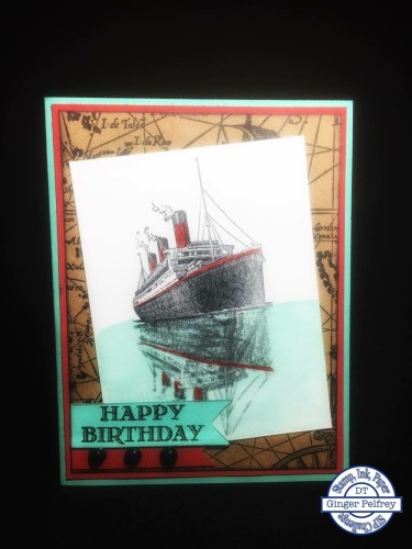 Pals Paper Crafting Card Ideas Ginger P Mary Fish Stampin Pretty StampinUp