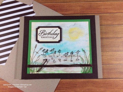 Pals Paper Crafting Card Ideas Wetlands Mary Fish Stampin Pretty StampinUp