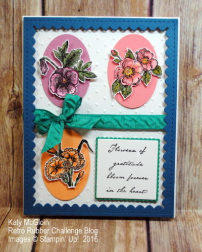 Pals Paper Crafting Card Ideas In Color Mary Fish Stampin Pretty StampinUp