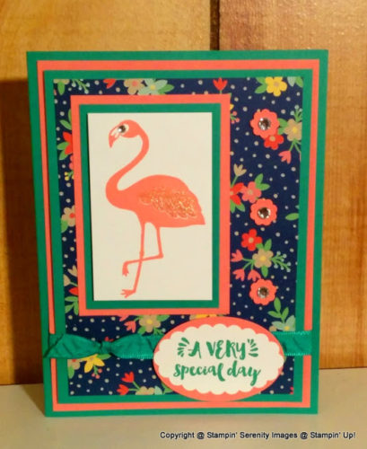 Pals Paper Crafting Card Ideas Pop of Paradise Mary Fish Stampin Pretty StampinUp