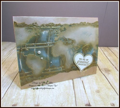 Pals Paper Crafting Card Ideas World Traveler Mary Fish Stampin Pretty StampinUp