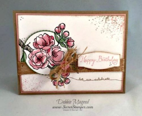 Pals Paper Crafting Card Ideas Debbie Mageed Mary Fish Stampin Pretty StampinUp