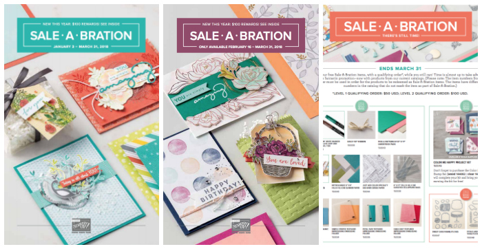 Stampin' Up! Sale-A-Bration Promotion 2018 | Stampin' Pretty